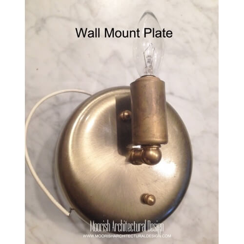 Rustic Wall Sconce