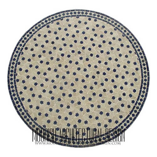 Moroccan Mosaic Table 01