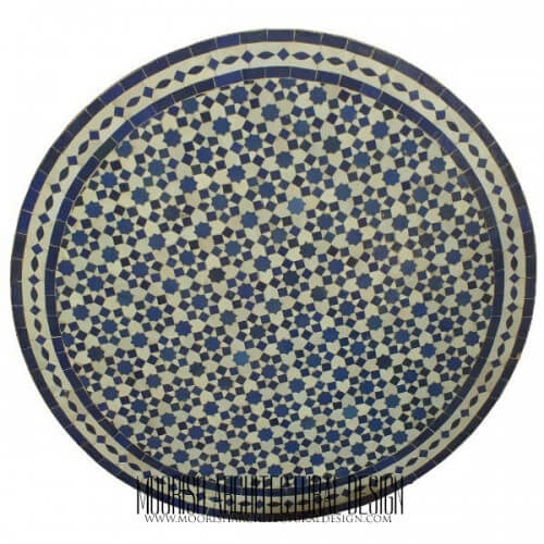 Moroccan Mosaic Table 05