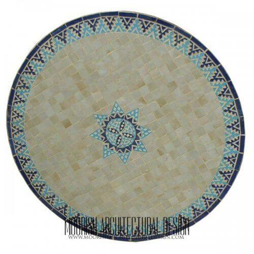 Moroccan Mosaic Table 06