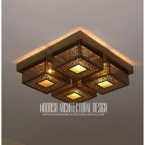 Moroccan Ceiling Light 22