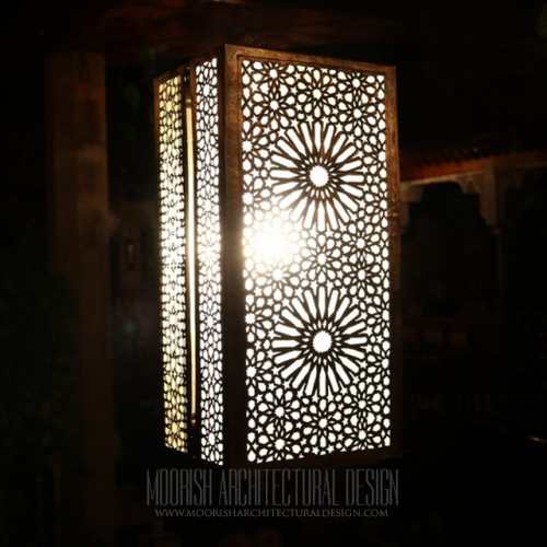 Modern Moroccan Sconce 57