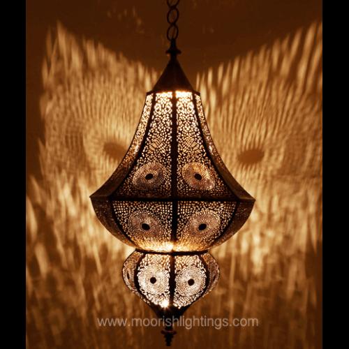 Moorish Bathroom Pendant Light