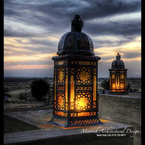 Moroccan Outdoor Light 01