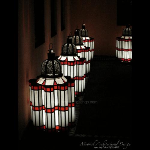 Moroccan Outdoor Light 03
