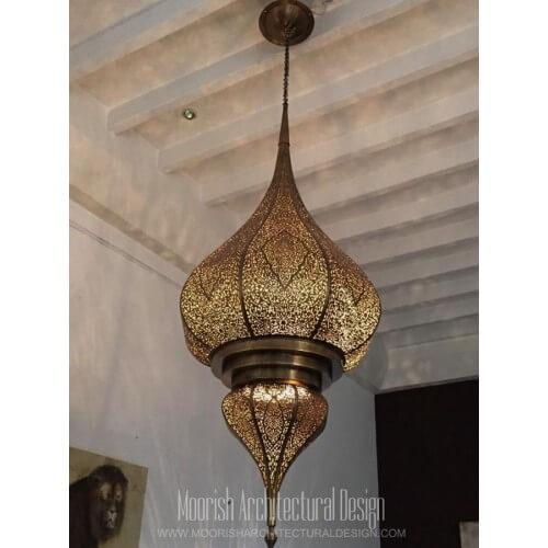 Modern Moroccan Pendant 45