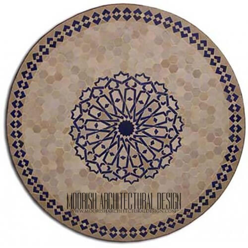 Moroccan Mosaic Table 02
