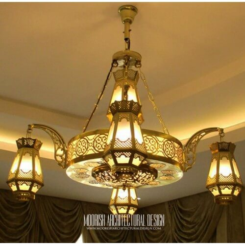 Large size Arabian chandelier