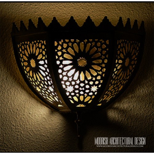 Traditional Moroccan Sconce 25