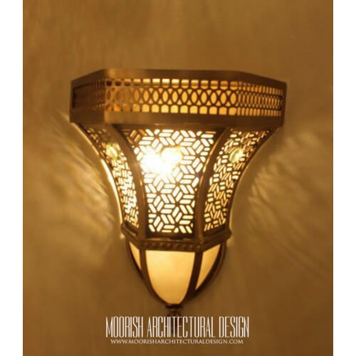 Traditional Moroccan Sconce 28