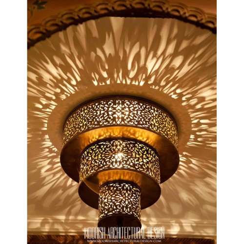 Custom hotel ceiling lights