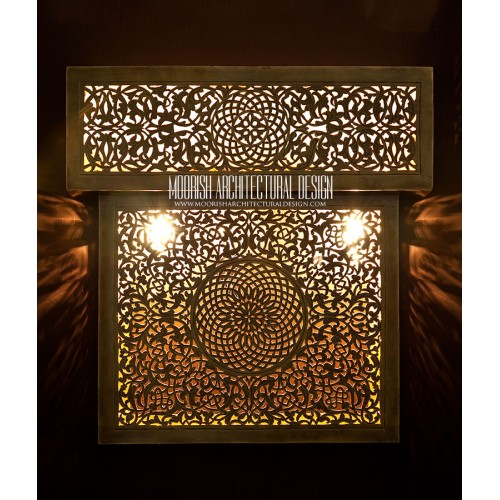 Modern Moroccan Sconce 24