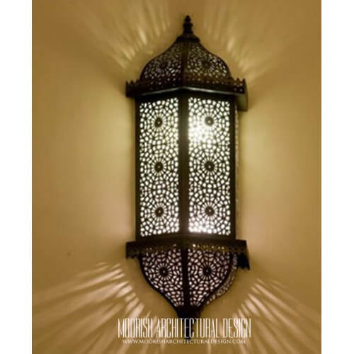 Traditional Moroccan Sconce 33