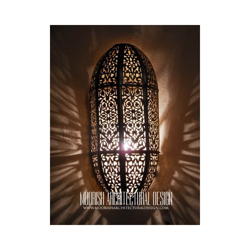 Moroccan Pierced Metal Wall Lights