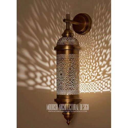 Modern Moroccan Sconce 40