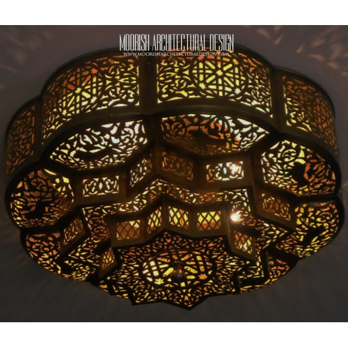 Moroccan Flush Mount Ceiling Lights