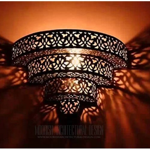 Traditional Moroccan Sconce 34
