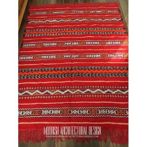 Red Moroccan Rugs