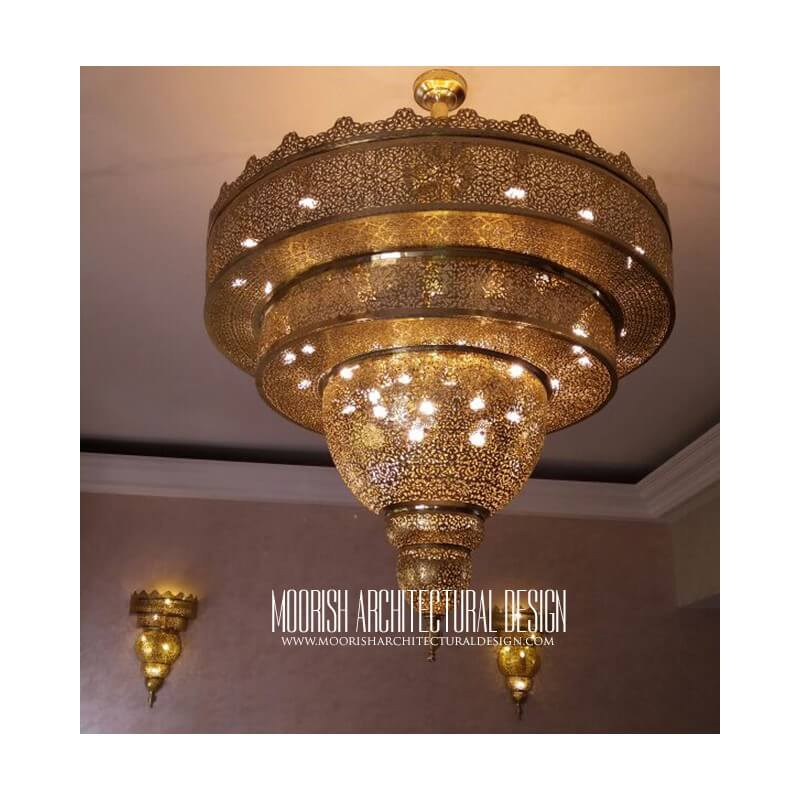 Hospitality Lighting – Spanish Colonial Chandelier Los Angeles, Palm desert, Santa Barbara