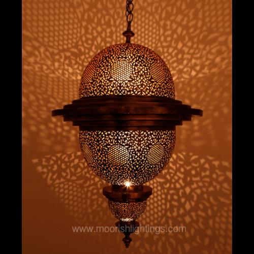 Modern Moroccan Pendant 03
