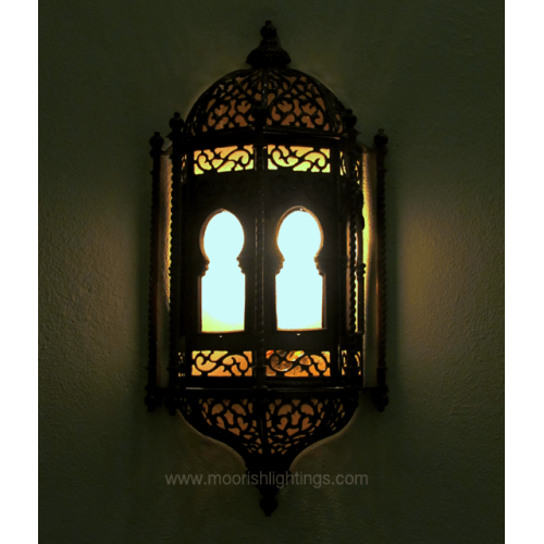 Traditional Moroccan Sconce 01