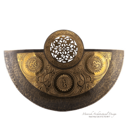 Modern Moroccan Sconce 04