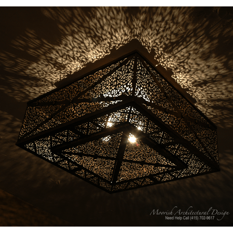Moroccan Ceiling Light Los Angeles