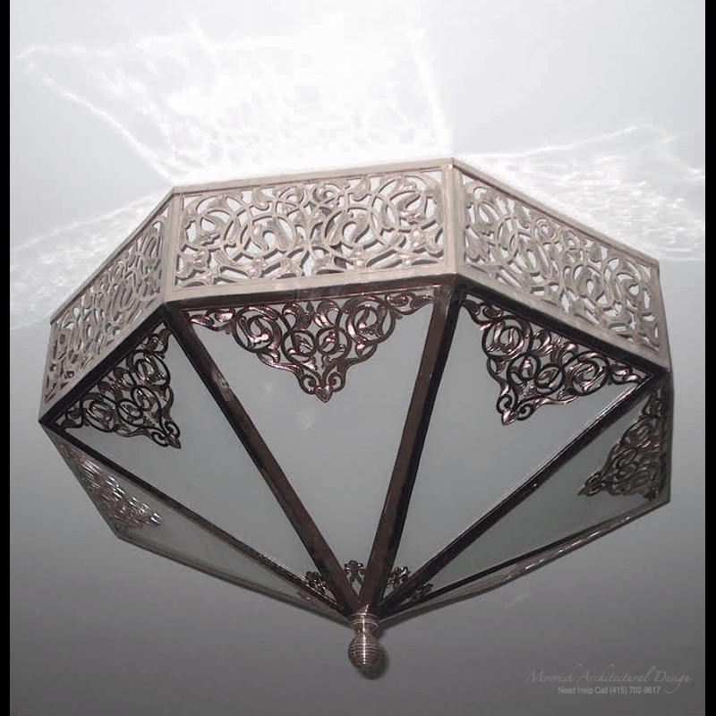 Moroccan Ceiling Light Miami
