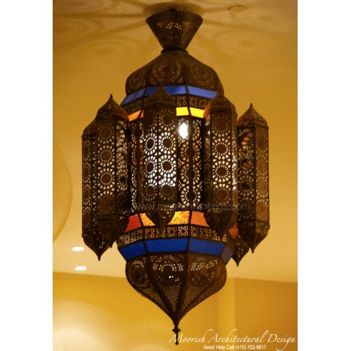 Traditional Moroccan Lantern 07