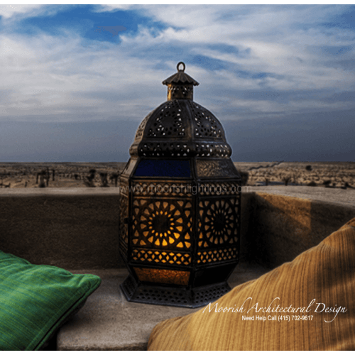Moroccan Landscape lighting