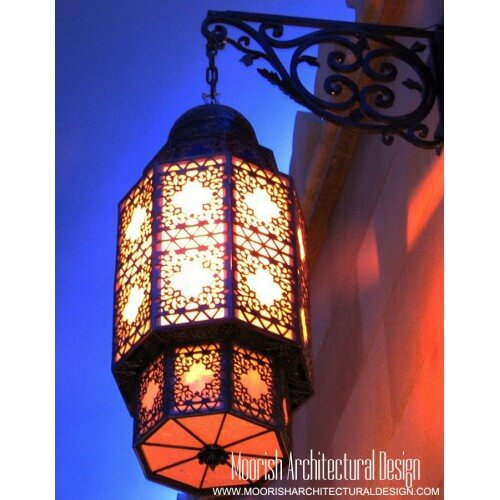 Moroccan Outdoor Wall Light 01