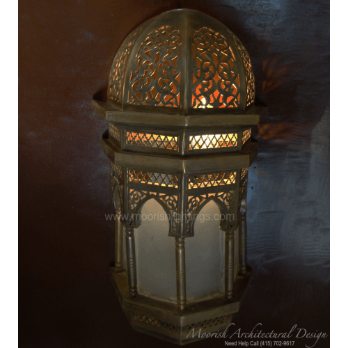 Traditional Moroccan Sconce 10