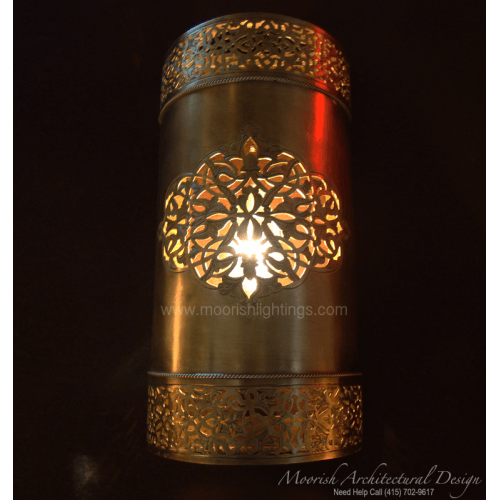 Traditional Moroccan Sconce 16