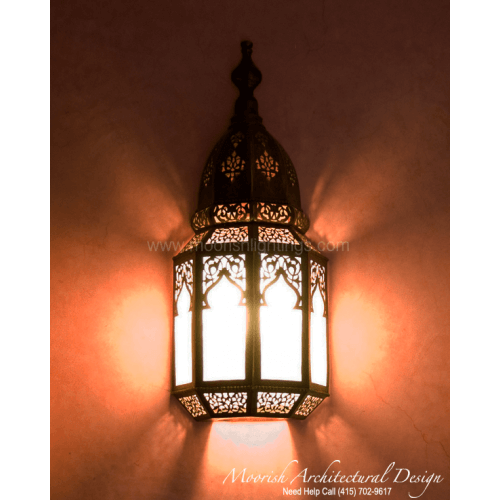 Traditional Moroccan Sconce 21