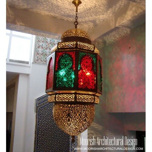 Traditional Moroccan Lantern 12