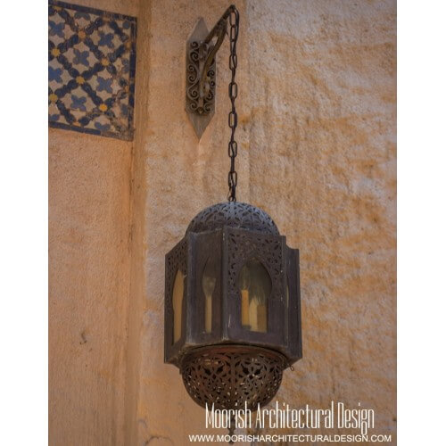 Moroccan Outdoor Wall Light 02